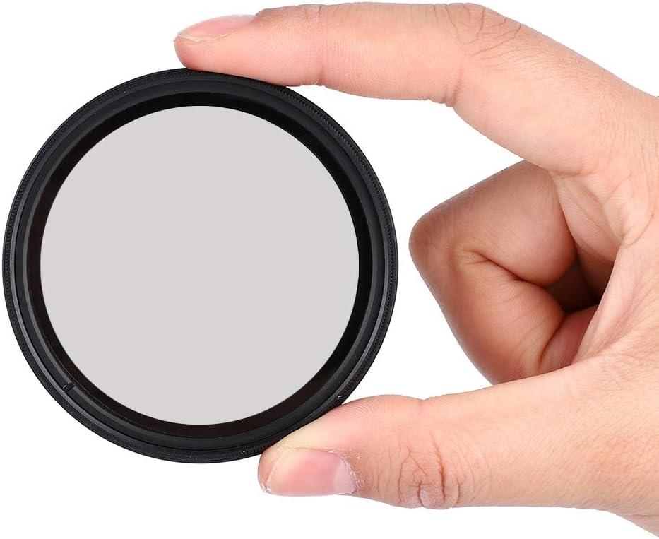 82mm Pbzydu Neutral Density Filter Adjustable Professional ND Lens Filter ND2-400 Fader Neutral Density