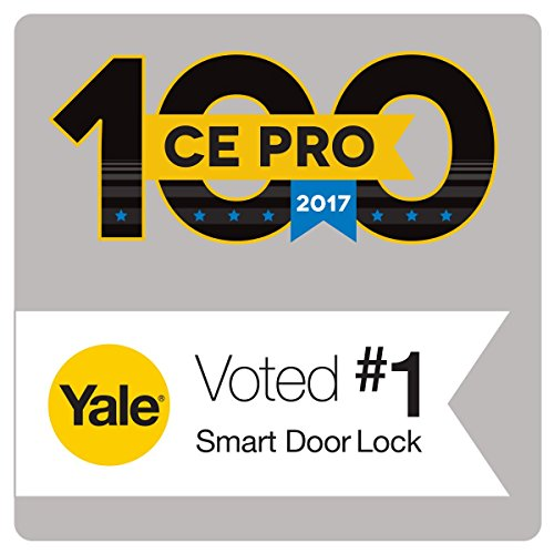 Yale Security Real Living Keyless Push Button Deadbolt With Z-Wave, Oil Rubbed Bronze