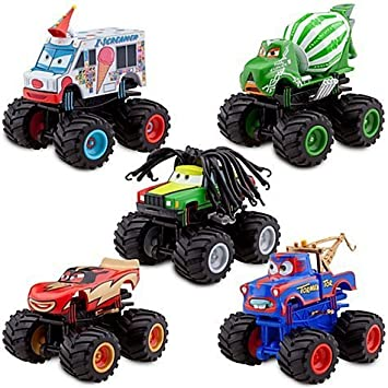 Monster Truck Mater Pc Deluxe Figure Set Disney Pixar Cars
