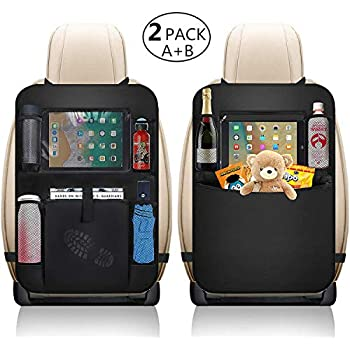 Back Seat Car Organizer for Kid Toys Black Books and Snacks Diono Stow /'n Go