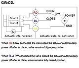 """Akent Motorized Ball Valve 3/4"""" DC12V SS304, Full"""