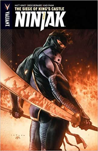 Ninjak Volume 4: The Siege of Kings Castle: Matt Kindt ...