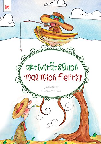 Aktivitätsbuch: Mal mich fertig (German Edition)