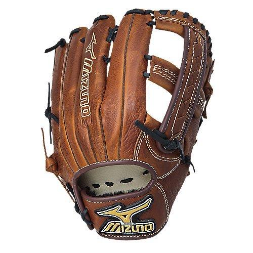 Mizuno GMVP1250S1 MVP Softball Fielder's Mitt (Copper, 12.50-Inch, Left Handed Throw)