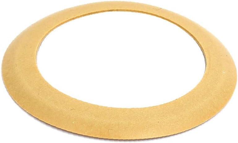 772ea0bb-a222-11e9-8d7c-4cedfbbbda4e X-Dr 68mmx48mmx0.8mm Air Compressor Compression Piston Ring Yellow