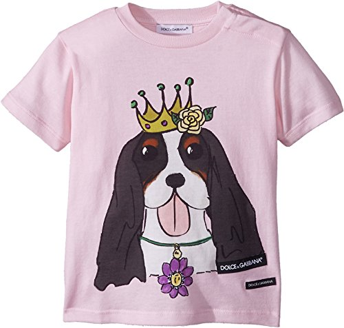 Dolce & Gabbana Kids Baby Girl's T-Shirt (Infant) Pink Print 12-18 Months by Dolce & Gabbana (Image #2)