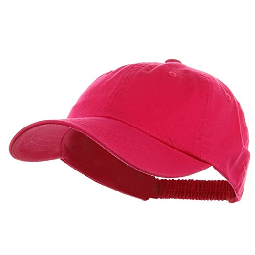 Washed Ladies Polo Cap-Hot Pink at Amazon Women s Clothing store ... a197c85dd2a7