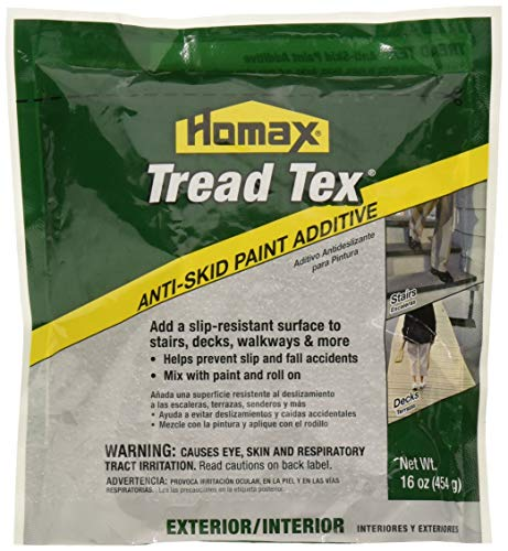(Homax Group Inc 8600 8600-6 Tread Tex Anti Skid Paint Additive, 16 Oz)