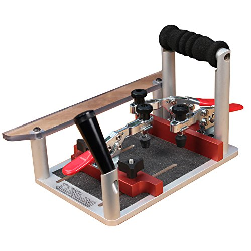 Coping & Crosscut Sled w/Standard Toggle Clamps by infinity Tools