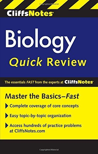 CliffsNotes Biology Quick Review Second Edition by Kellie Ploeger Cox PhD (2014-12-30)