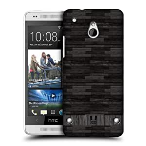 Head Case Designs Wood Industrial Textures Protective Snap-on Hard Back Case Cover for HTC One mini