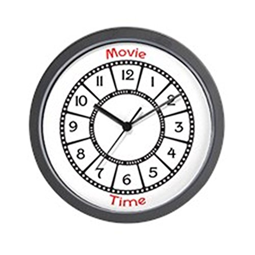 Reel Clock - CafePress - Movie Theme Wall Clock - Unique Decorative 10