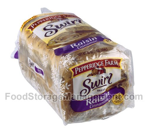 (Pepperidge Farm Raisin Cinnamon Swirl Bread Pack of 2)