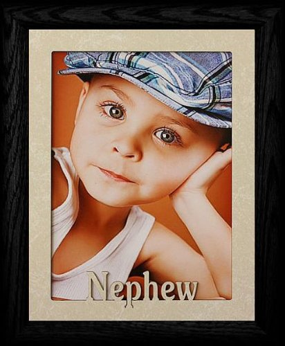 5x7 JUMBO ~ NEPHEW Portrait Picture Frame For a Favorite Aunt or ...