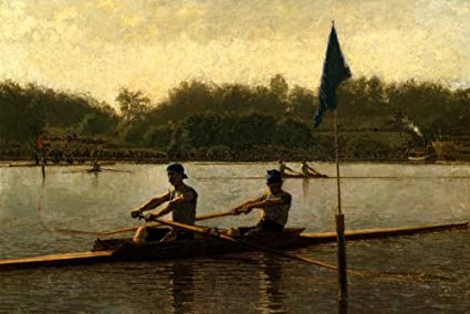 The Rowing Pictures Thomas Eakins