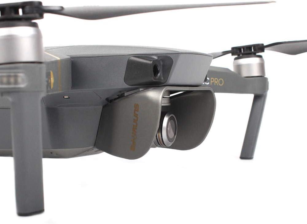 Black CAIfnv Sun Shade Lens Hood Glare Gimbal Camera Protector Cover for DJI Mavic Pro