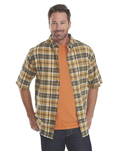 Woolrich Men's Timberline Madras Plaid Short Sleeve Shirt...