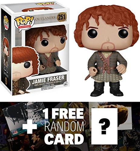 Jamie Fraser: Funko POP! x Outlander Vinyl Figure + 1 FREE TV Themed Trading Card Bundle [53871]