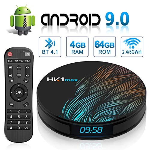 Android 9.0 TV Box HK1 Max's with Dual-WiFi 2.4GHz/5GHz for sale  Delivered anywhere in Canada