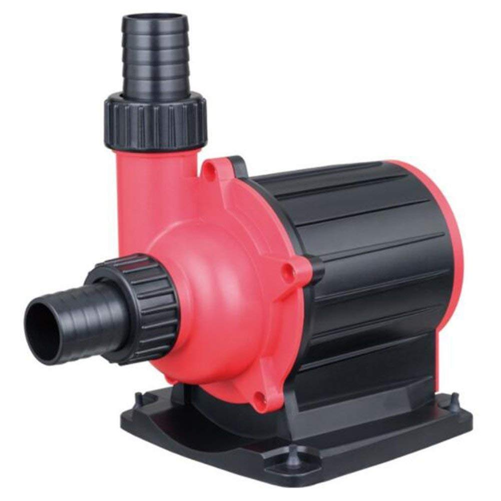 3500L H Submersible Garden Fish Pond Pump Ultra-Silent Energy Saving Frequency Conversion, Large Chassis Aquarium Circulation Pump Voltage \ T,3500L H