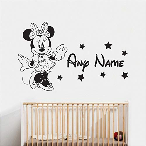 Mickey Minnie Mouse Wall Art Decal Sticker Minnie Mouse Wall Sticker Home Decor Cute Vinyl Wall Decals Wall Sticker Home Decor -