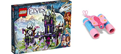 [LEGO Elves Ragana's Magic Shadow Castle 1014 Pcs & free Gifts Sunny Patch Bixie Butterfly Binoculars (Colors may vary)] (Baby State Trooper Costume)
