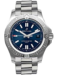 Chronomat Colt Automatic 44 Blue Dial Mens Watch A17388101C1A1. Breitling