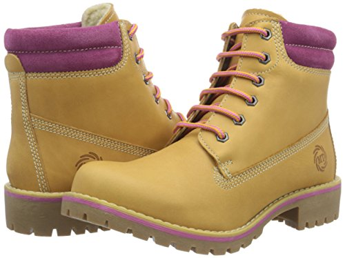Premio Boots Camel Tozzi Damen Fuxia Marco Combat Braun 387 26248 5TnXq6W0O