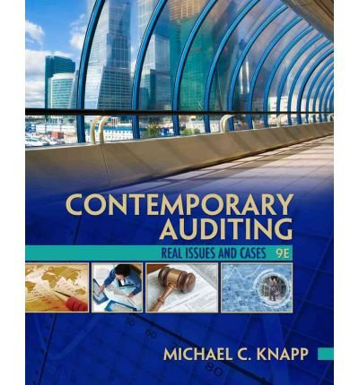 [ Contemporary Auditing: Real Issues and Cases ] BY Knapp, Michael C ( Author ) ON Jan-01-2012 Paperback