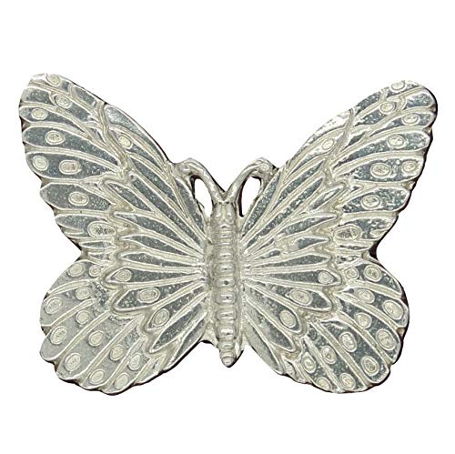 Butterfly Brooch, Butterfly Pin, Butterfly Jewellery, Handmade, in Fine Pewter, by William Sturt (Pewter Pins Fine)
