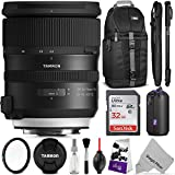 Tamron SP 24-70mm f/2.8 Di VC USD G2 Lens for CANON EF w/ Advanced Photo and Travel Bundle