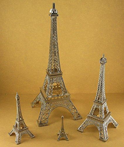 Dreampartycreation Silver Eiffel France Wedding