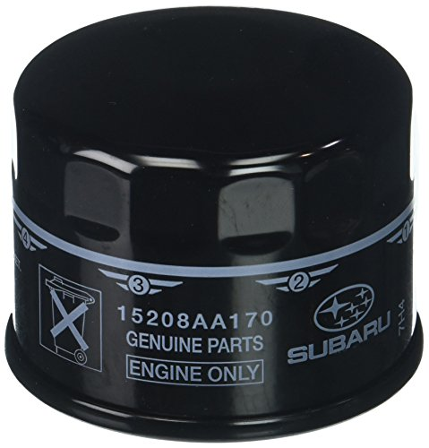 Subaru Genuine 15208AA170 Oil Filter Complete, 1 Pack