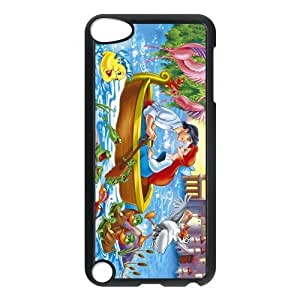 Customize High Quality Cartoon The Little Mermaid Back Case for ipod Touch 5 JNIPOD5-1350