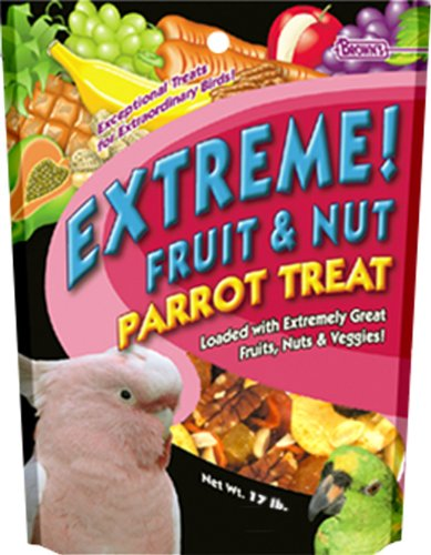 F.M. Brown's Tropical Carnival Fruit & Nut Parrot Treat, 17-pound bag by F.M. Brown's