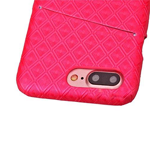 iPhone 7 Hülle, Apple iPhone 7 Hülle, Lifeturt [ Rose ] Gemalt Mode-Design PC Hardcase Handycover Schutzhülle Etui Telefon-Kasten Hülle Case für Apple iPhone 7