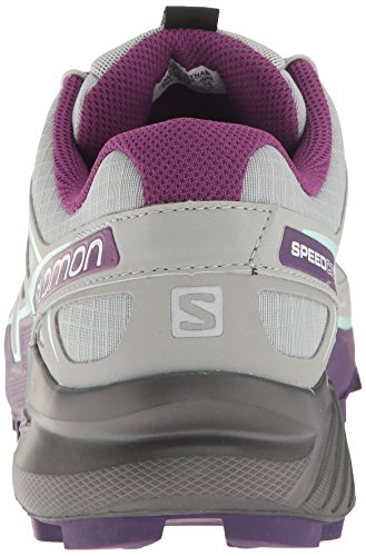 De Correr Tierra 4 Speedcross Quarry Acai fair Aqua Zapatilla Para Women's Salomon AW17 Gris TcxI6pyWI