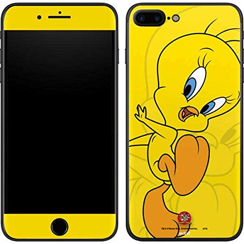 (Skinit Tweety Bird Double iPhone 8 Plus Skin - Officially Licensed Warner Bros Phone Decal - Ultra Thin, Lightweight Vinyl Decal Protection)