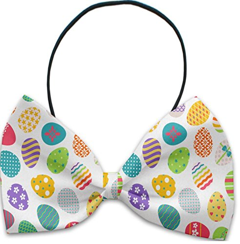 Easter Eggs Pet Bow Tie