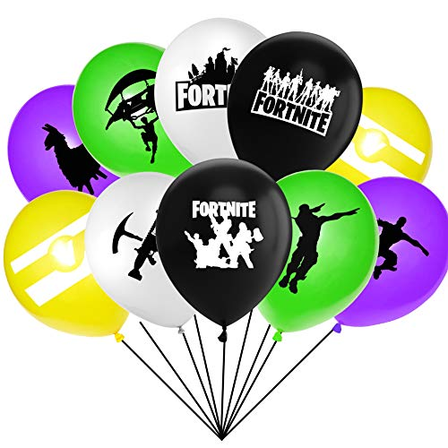 Gaming Party Birthday Balloons With Assorted Colored Latex