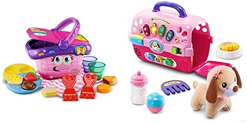 Amazon Com Leapfrog Shapes And Sharing Picnic Basket With Vtech