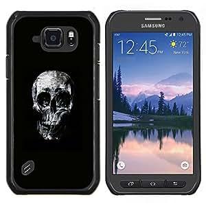 Stuss Case / Funda Carcasa protectora - Cráneo fresco - Samsung Galaxy S6Active Active G890A