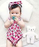 Colorful Flower Strawberry Bodysuits Girl Sprint