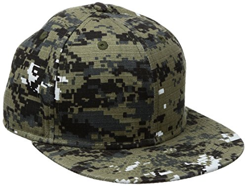 Outdoor Cap Digital Camouflage Unstructured Hat, Olive ()