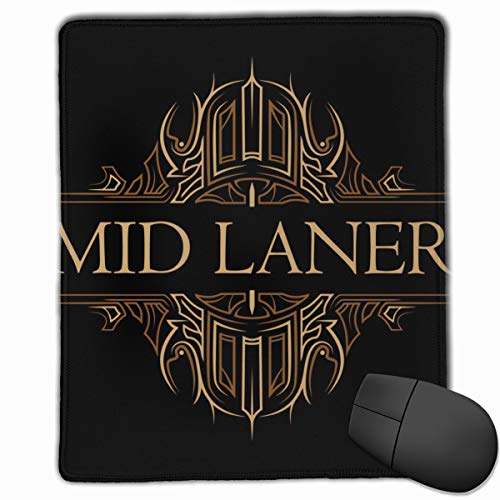 AVBER Mouse Pad Anti Slip Mid Laner Mouse Mat for Desktops Computer PC and Laptops, Mouse Pad Cute for Office and Home (Best Top Laners Right Now)
