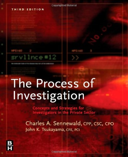 Process of Investigation: Concepts and Strategies for...