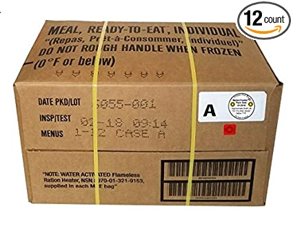 Amazon.com  MRE A-Menu Case de4eef58ea