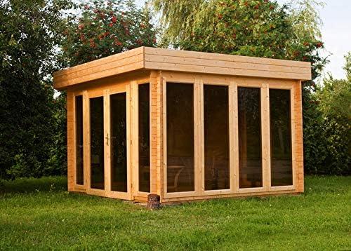 Tejado plano para caseta de jardín isla solar – 3,50 x 3,70 m (con ...