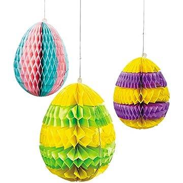 Rejoice Whimsical Colorful Easter Egg Spring Bunny Rabbit Tabletop ...