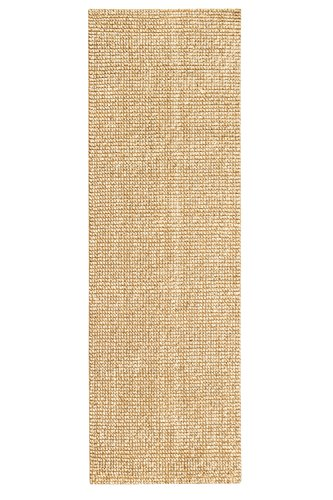 Anji Mountain AMB0308-0268-A Zatar Jute and Wool Rug, 2' 6